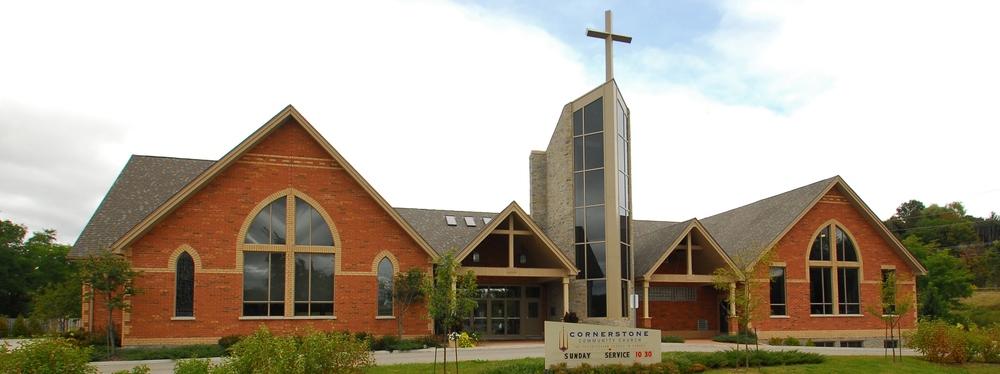 Cornerstone Community Church Exterior