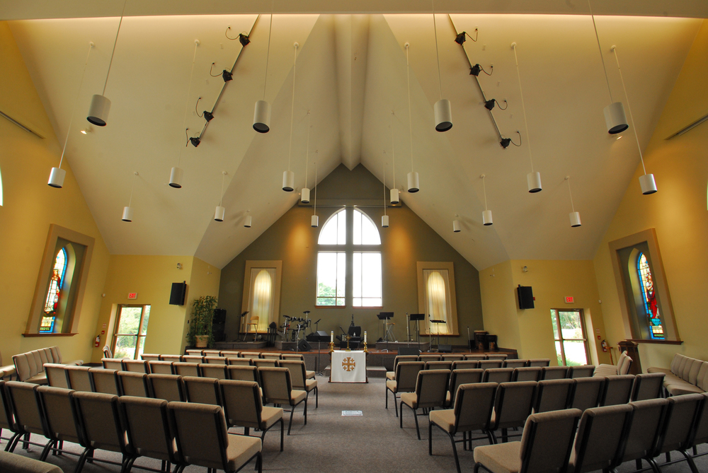 Cornerstone Community Church Sanctuary