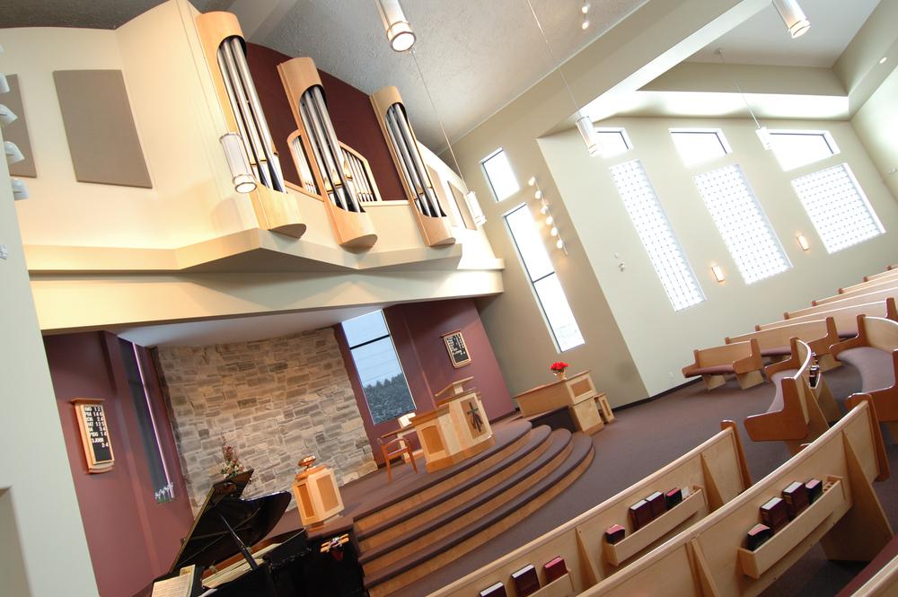Bethel Canadian Reformed Church Sanctuary