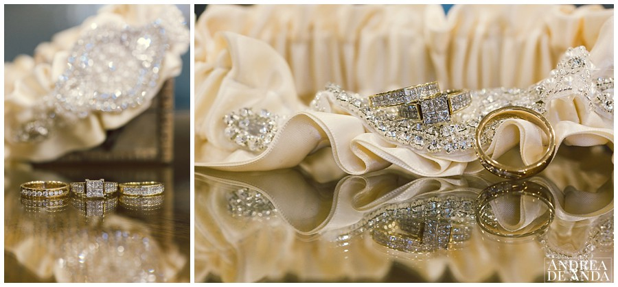 Nothing more beautiful than a beautiful set of wedding rings and a wonderful engagement ring.
