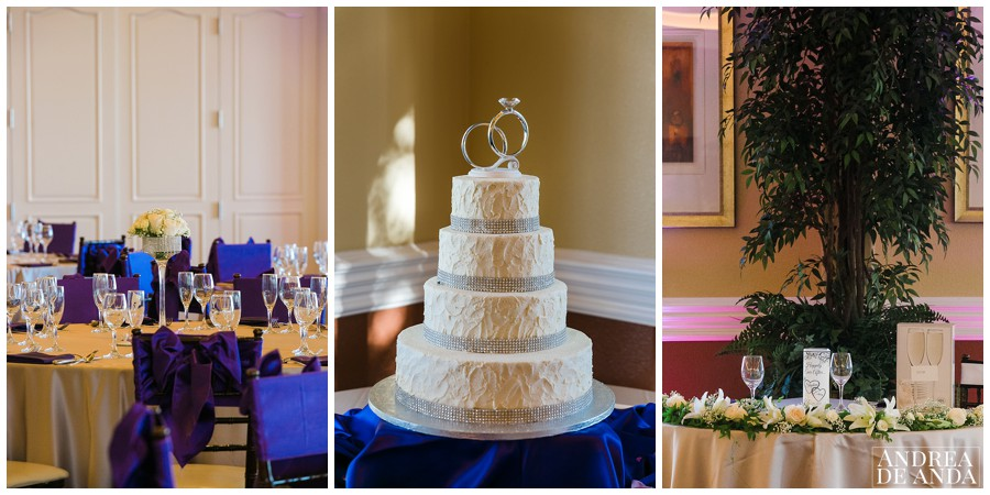 the wedding cake and all the decoration was spot on, perfectly planned and matched.