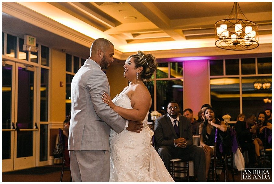 in motion lighting made my job so easy with this beautiful uplighting, the bride and groom first dance was epic.