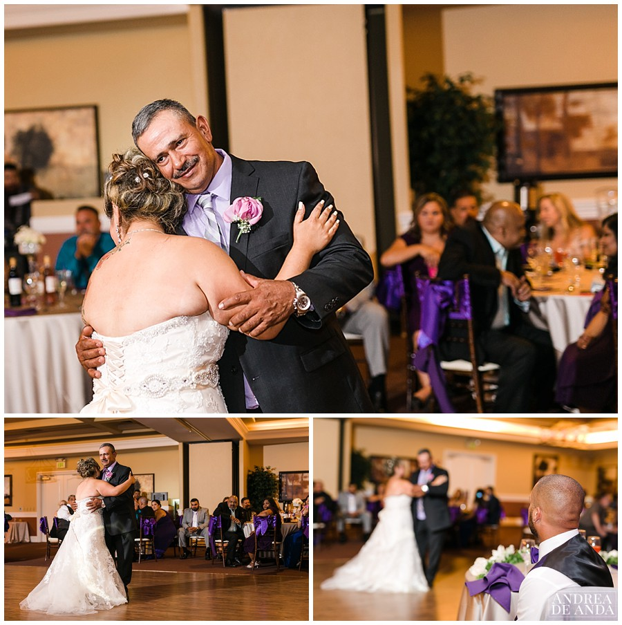 Father Daughter dances was very special and emotional.