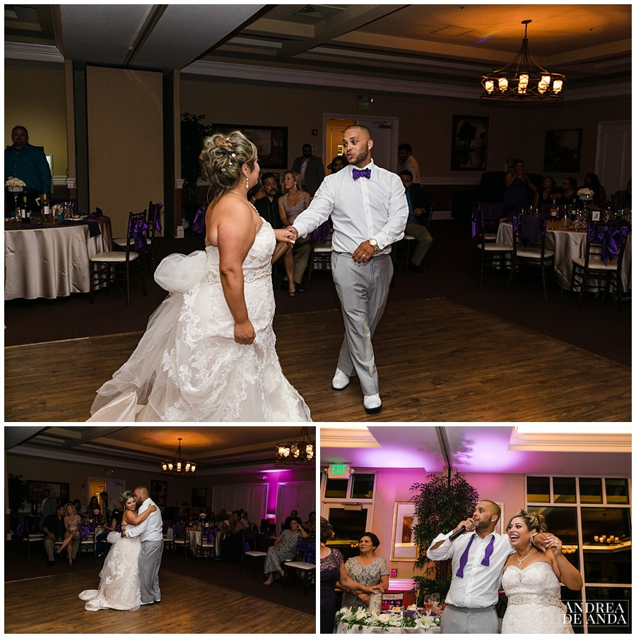 This was the most precious moment of the reception, Erica and Stephen dance on their 10th anniversary and wedding day !