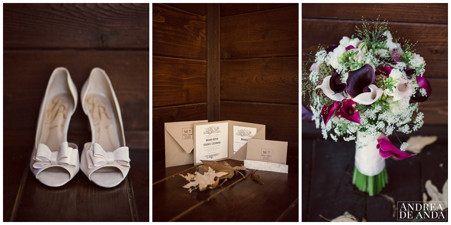 Megan's wedding theme and colors are consistent throughout the hole venue and all her wedding day.