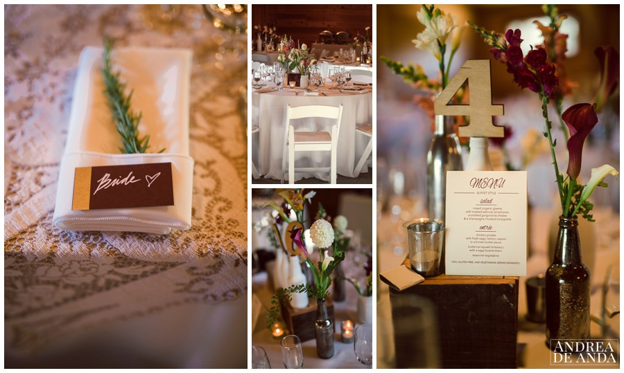 every little detail on this wedding is so authentic !