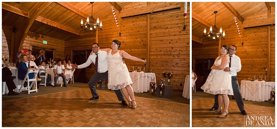 A very original first dance for a unique couple, TAP DANCE !!