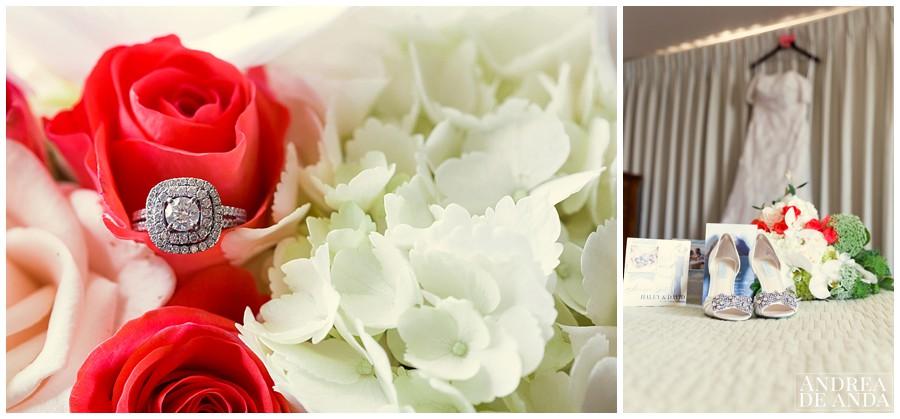 Wedding details like the dress and the ring make me soooo happy !