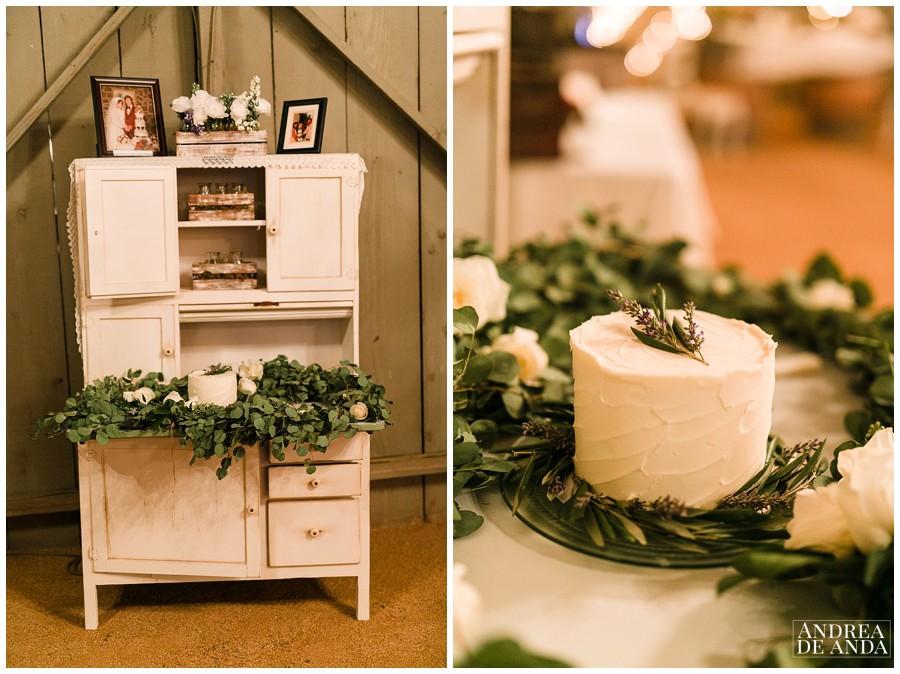 Wedding cake by Enjoy Cupcakes