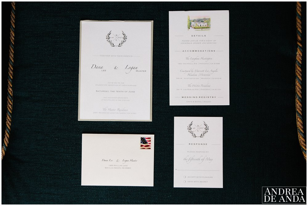wedding stationery, classic, beautiful and elegant