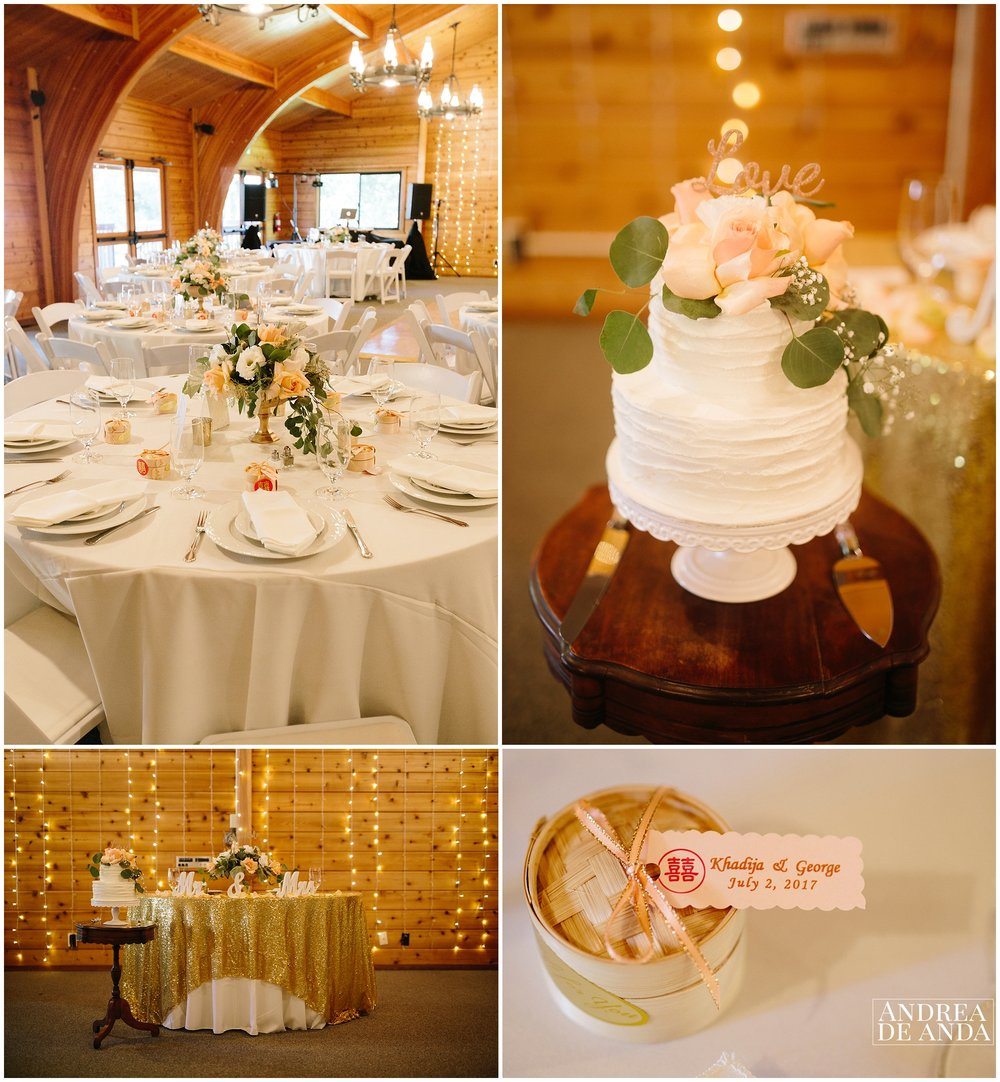 Lion's Park Carpinteria Hall Wedding decoration