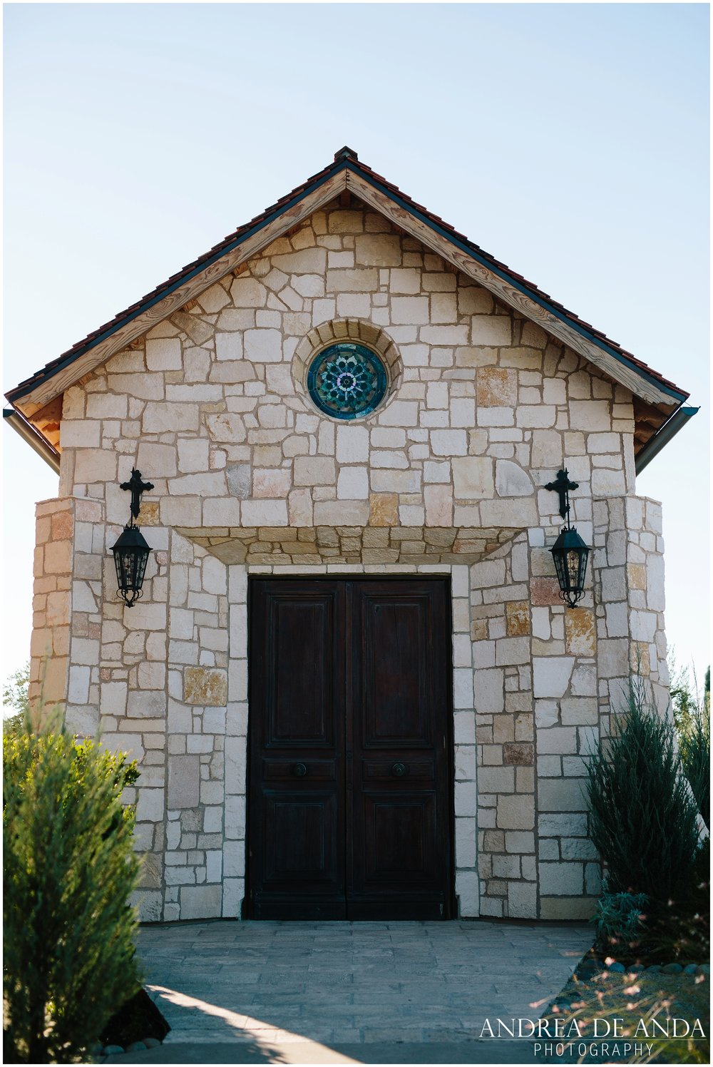 The abbey at Allegretto Vineyard in Paso Robles