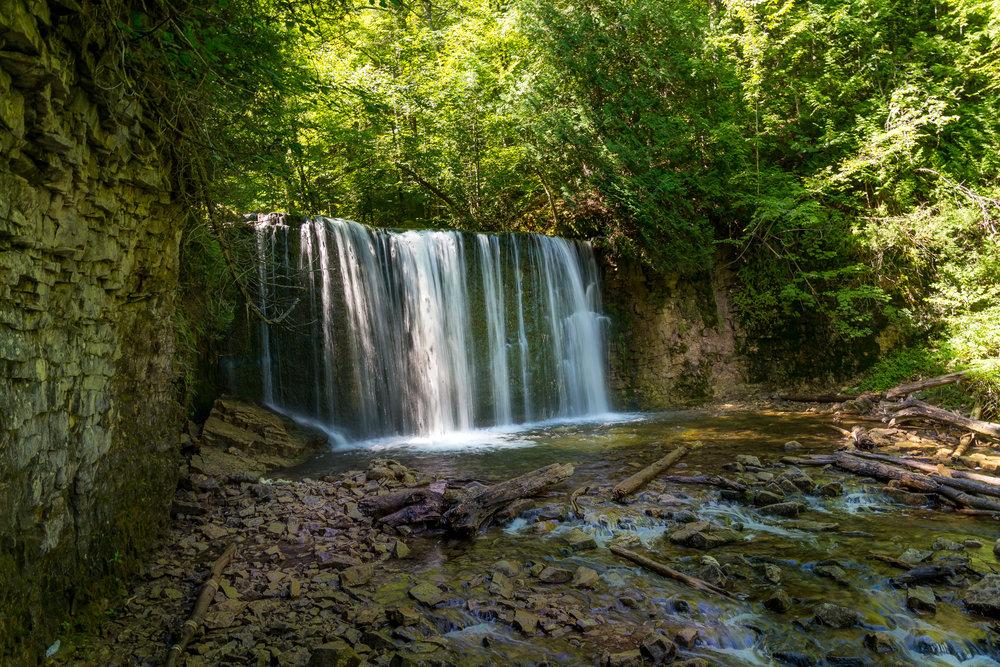Hoggs Falls (1/6 sec, f/11, 100 ISO, 24mm)