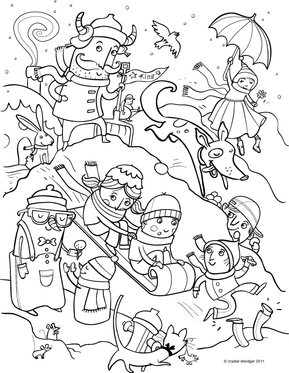 coloring pages  u2014 crystal driedger