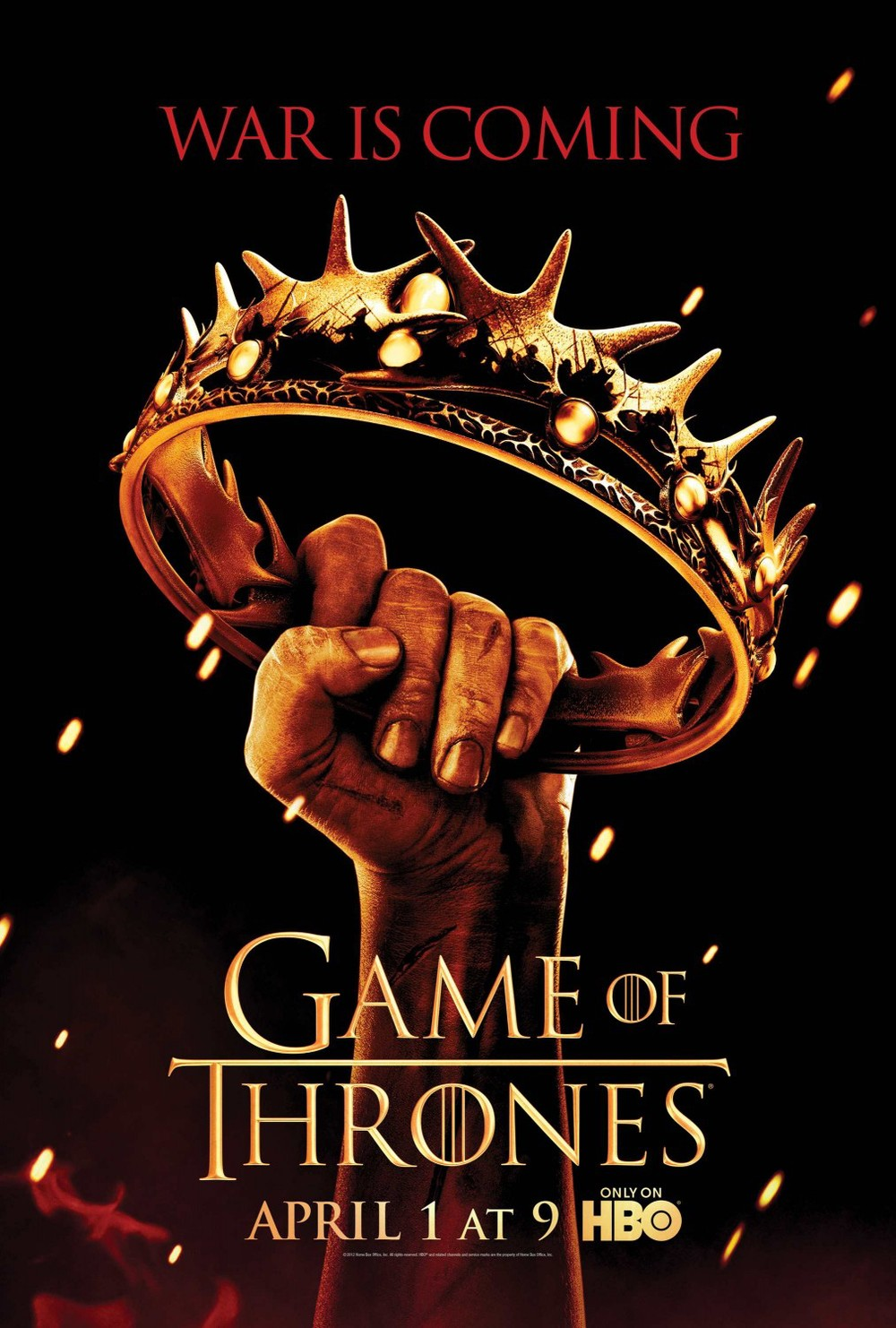Game Of Thrones Season 2 Key Art