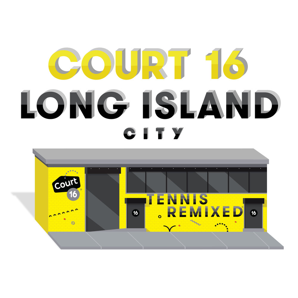 Court 16 Long Island City graphic of front
