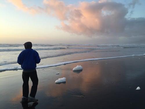 Ocean Beach  5:05 p.m.