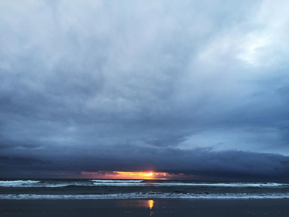 Ocean Beach  7:33 p.m.
