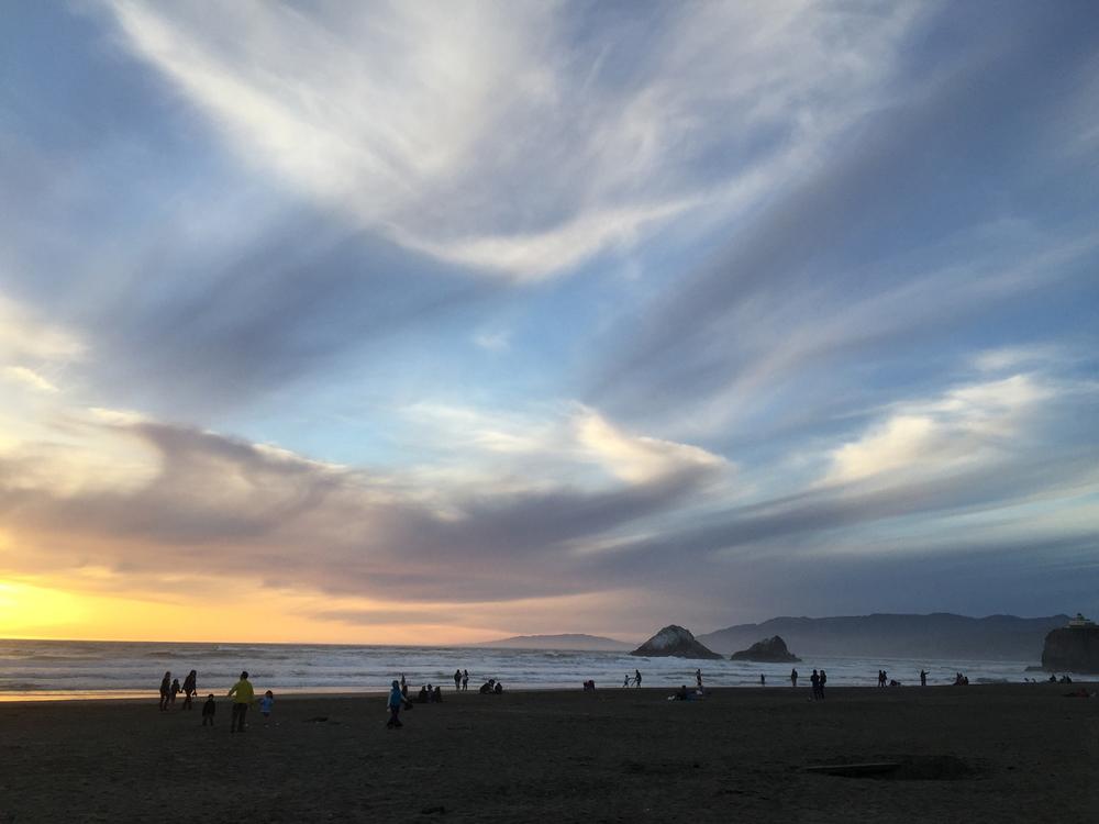 Ocean Beach  7:28 p.m.