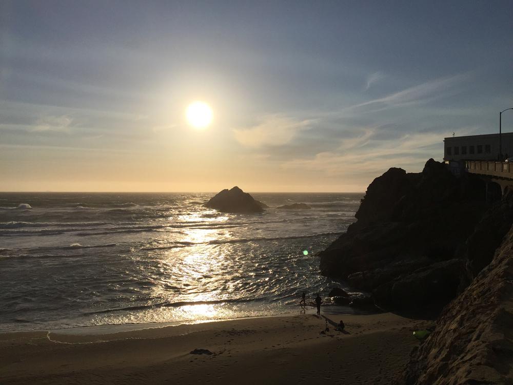 Ocean Beach  7:16 p.m.