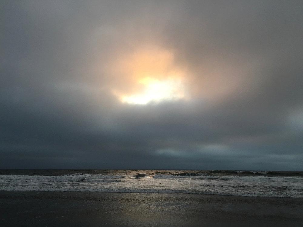 Ocean Beach  6:44 pm
