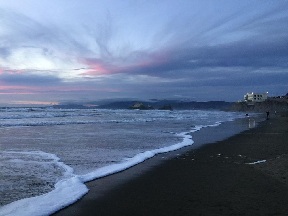 Ocean Beach  6:28 pm