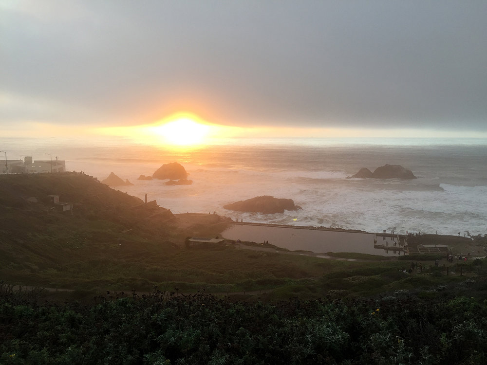 Above the Sutro Baths   4:49 pm