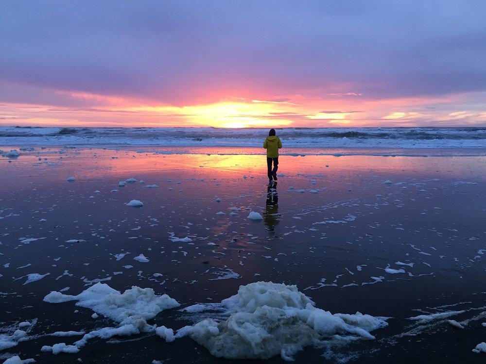 Ocean Beach  4:56 pm