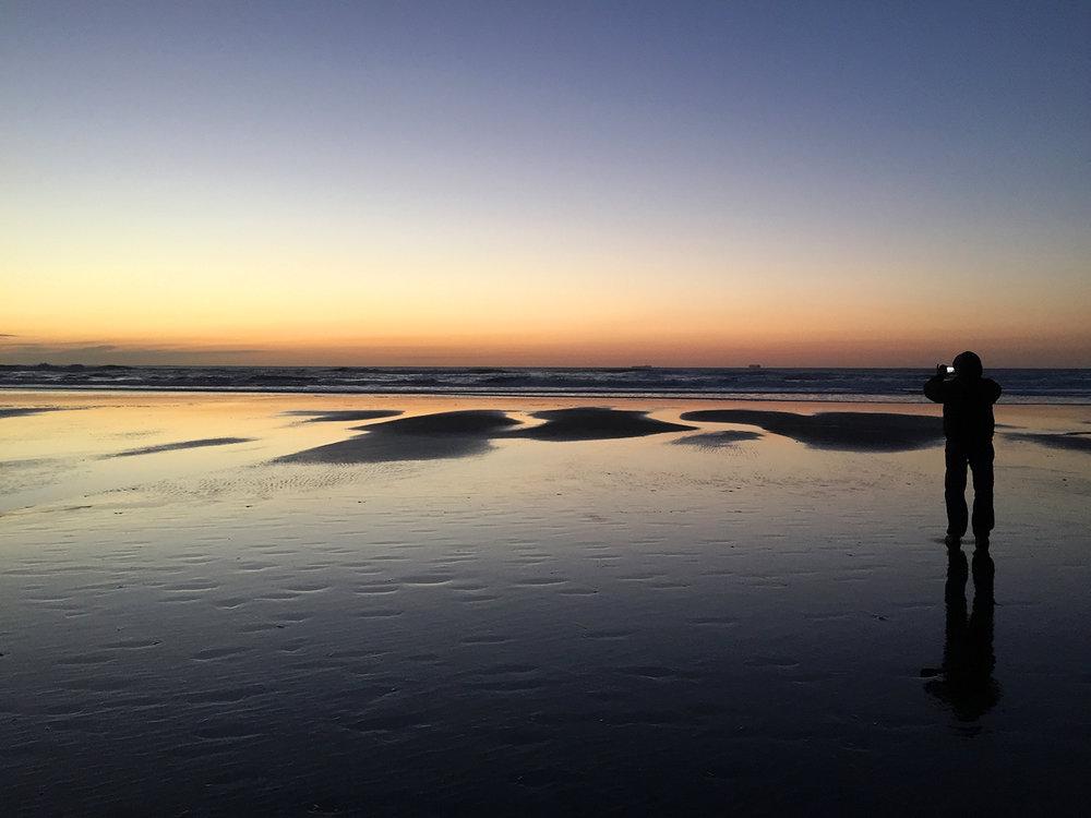 Ocean Beach  5:21 pm
