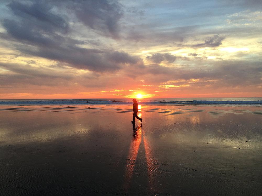 Ocean Beach  5:29 pm