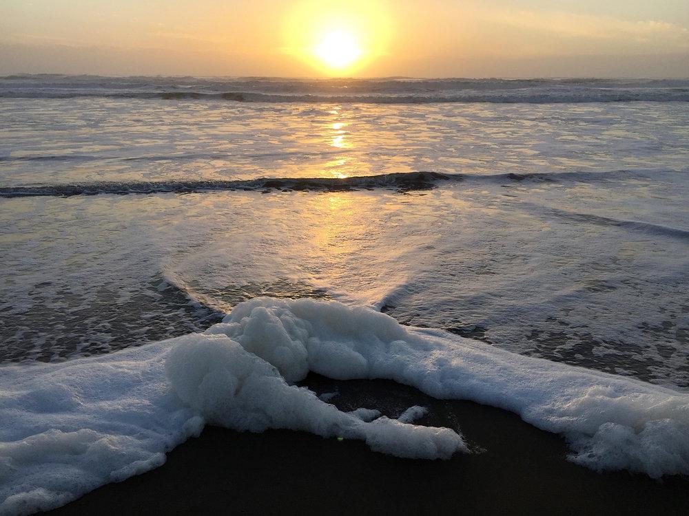 Ocean Beach  5:38 pm