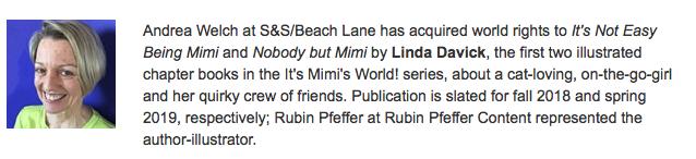 - Publishers Weekly Children's Bookshelf