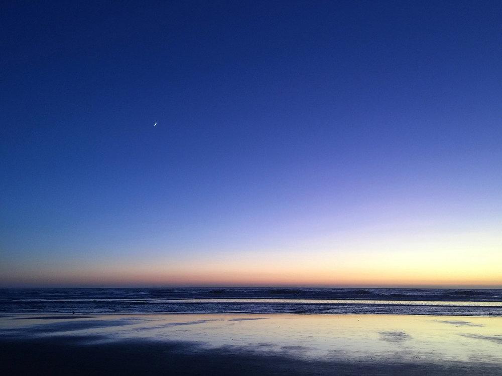Ocean Beach  7:25 pm
