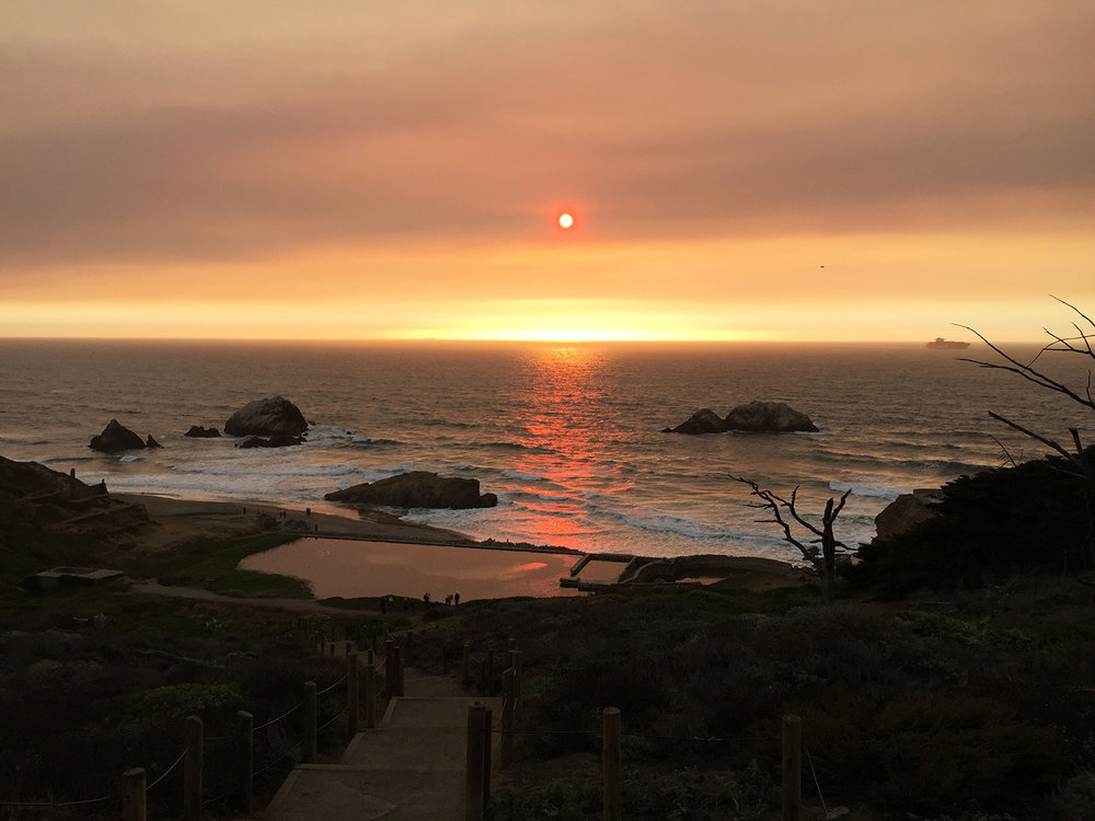 Above the Sutro Baths   5:57 pm
