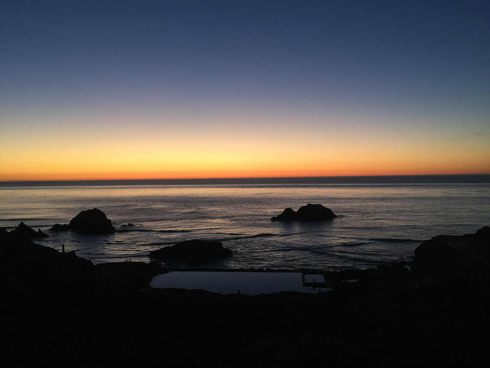above Sutro Baths   6:03 pm