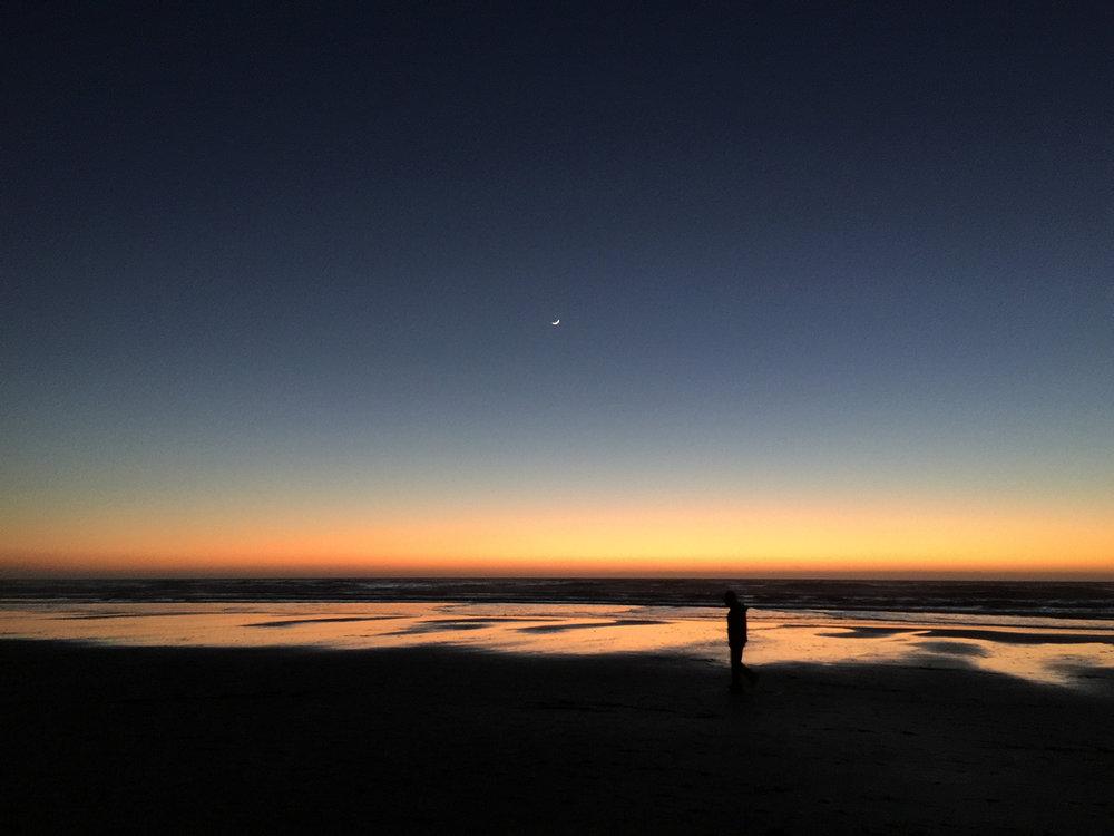 Ocean Beach  6:24 pm