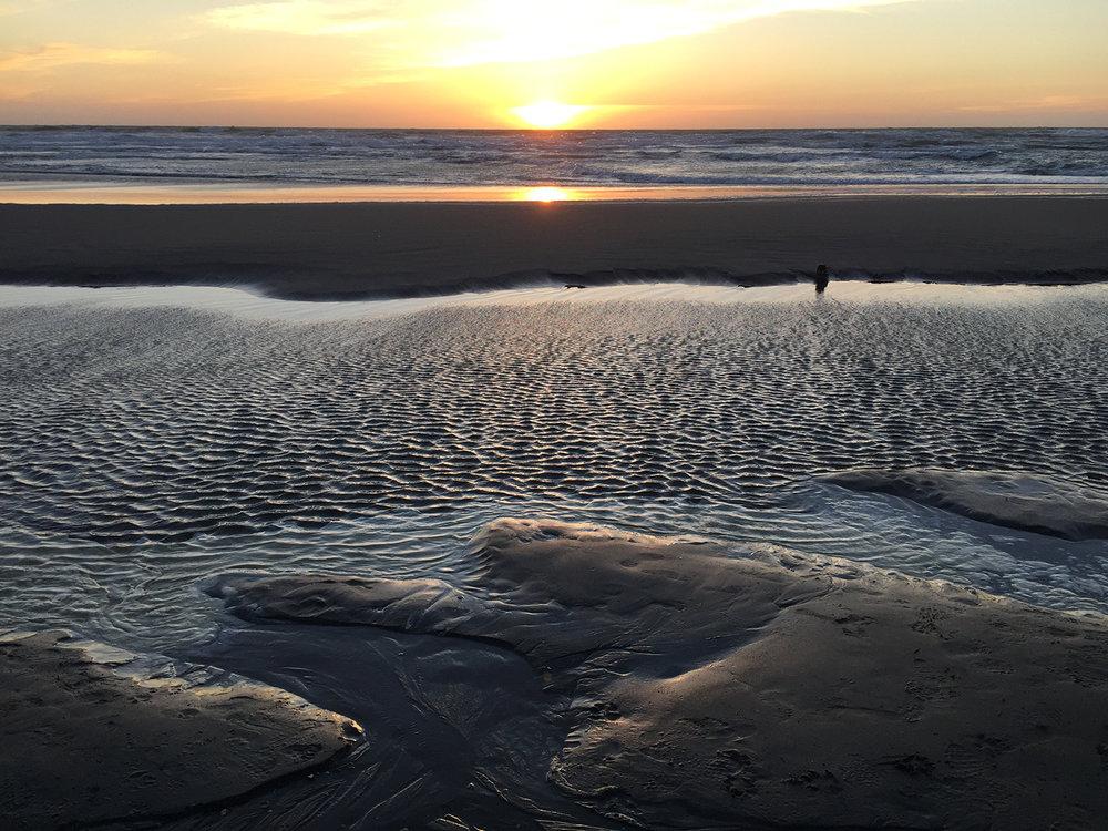 Ocean Beach  7:28 pm