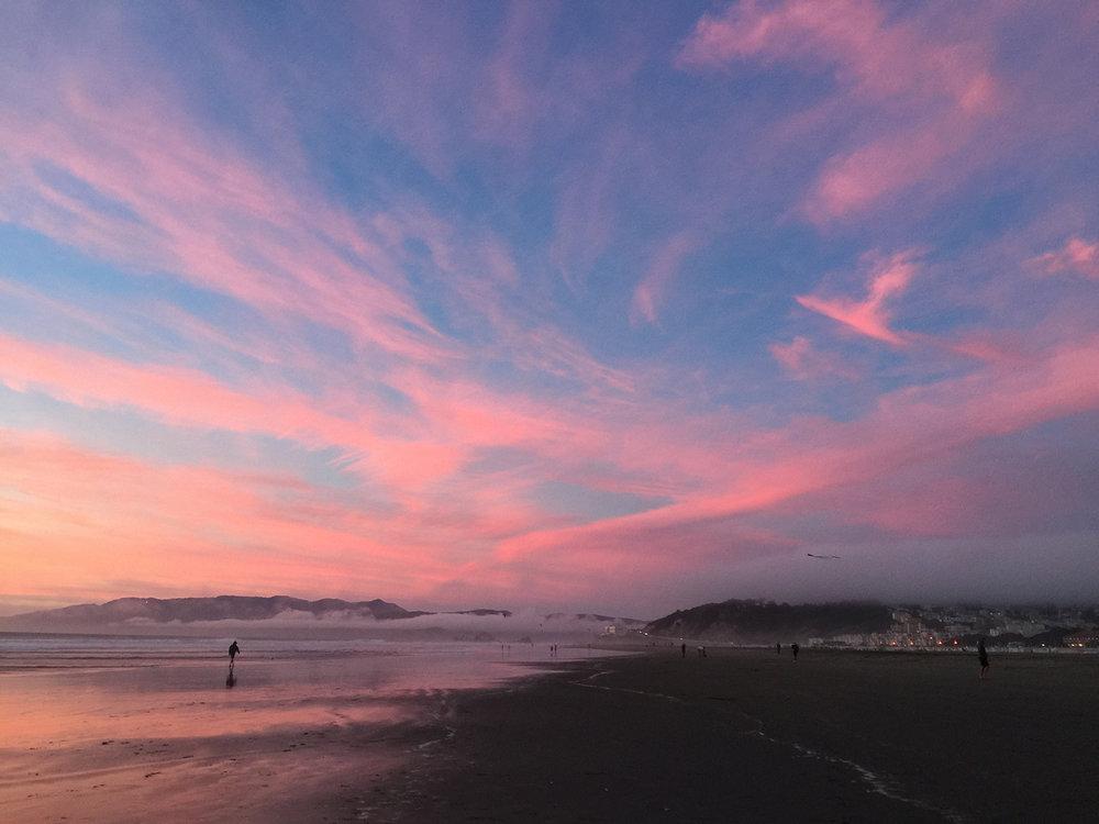Ocean Beach   6:30 pm