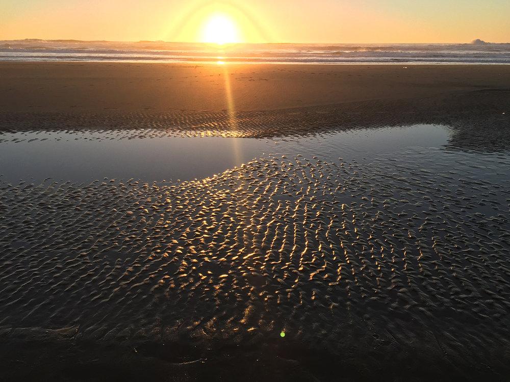 Ocean Beach 4:55 pm