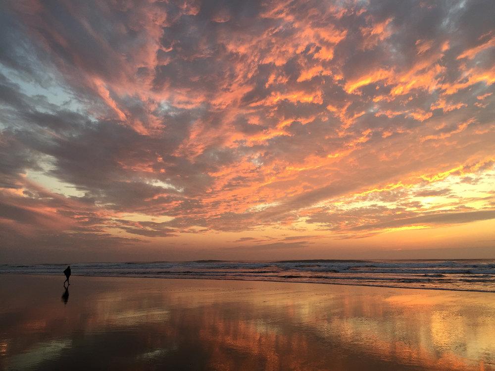 Ocean Beach, 4:56 pm