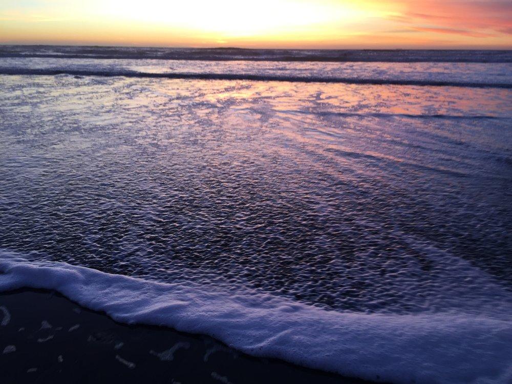 Ocean Beach, 5:06 pm