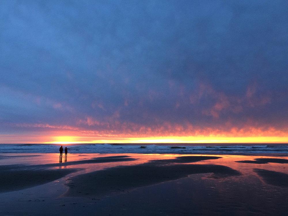 Ocean Beach  4:58 pm