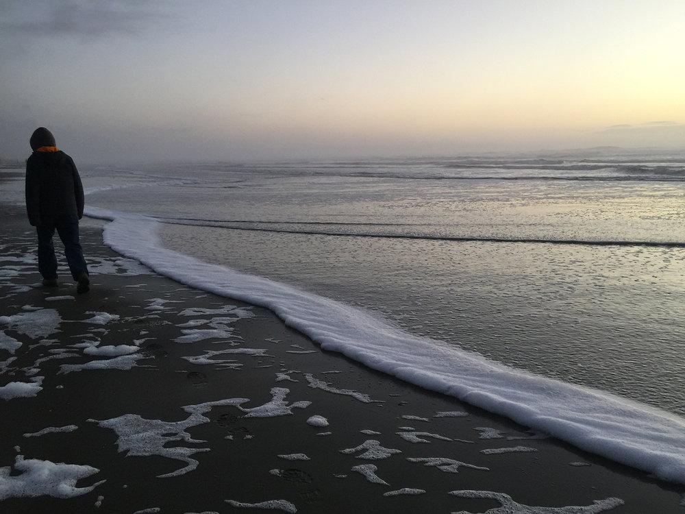Ocean Beach 5:15 pm