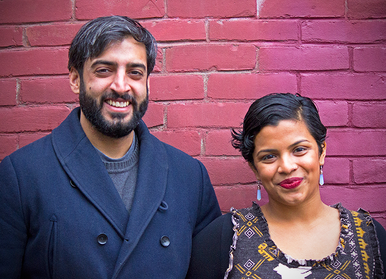 Parvez Pothiawala & Alma Hartman | Photo by Sarah Webb