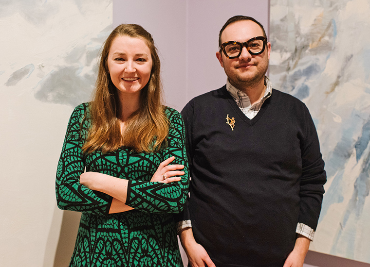 Shelbure Museum Curators Carolyn Bauer and Kory Rogers | Photo by Andy Duback