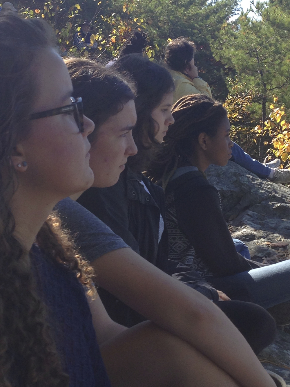 Contemplating and discerning during the 2014 Powell House Retreat