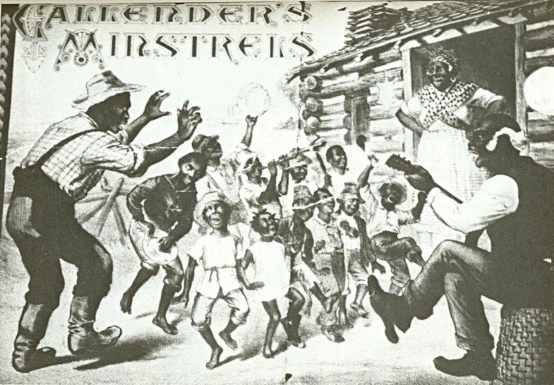 Callender's_Colored_Minstrels_plantation_scene