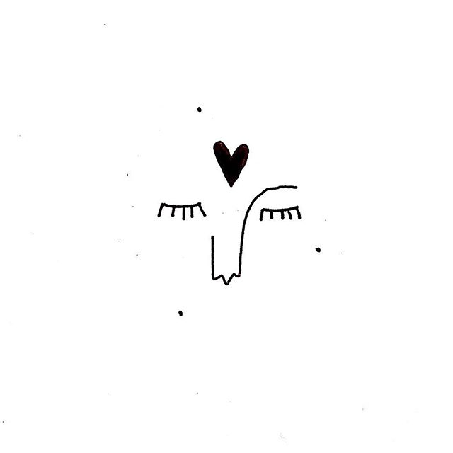 """Día """"..."""" / """"..."""" Day  #heart #head #illustration #icon #peace #love #sleep #dream #dreams #buenosaires #people #human #draw #lines #line #black #ink #constellation"""