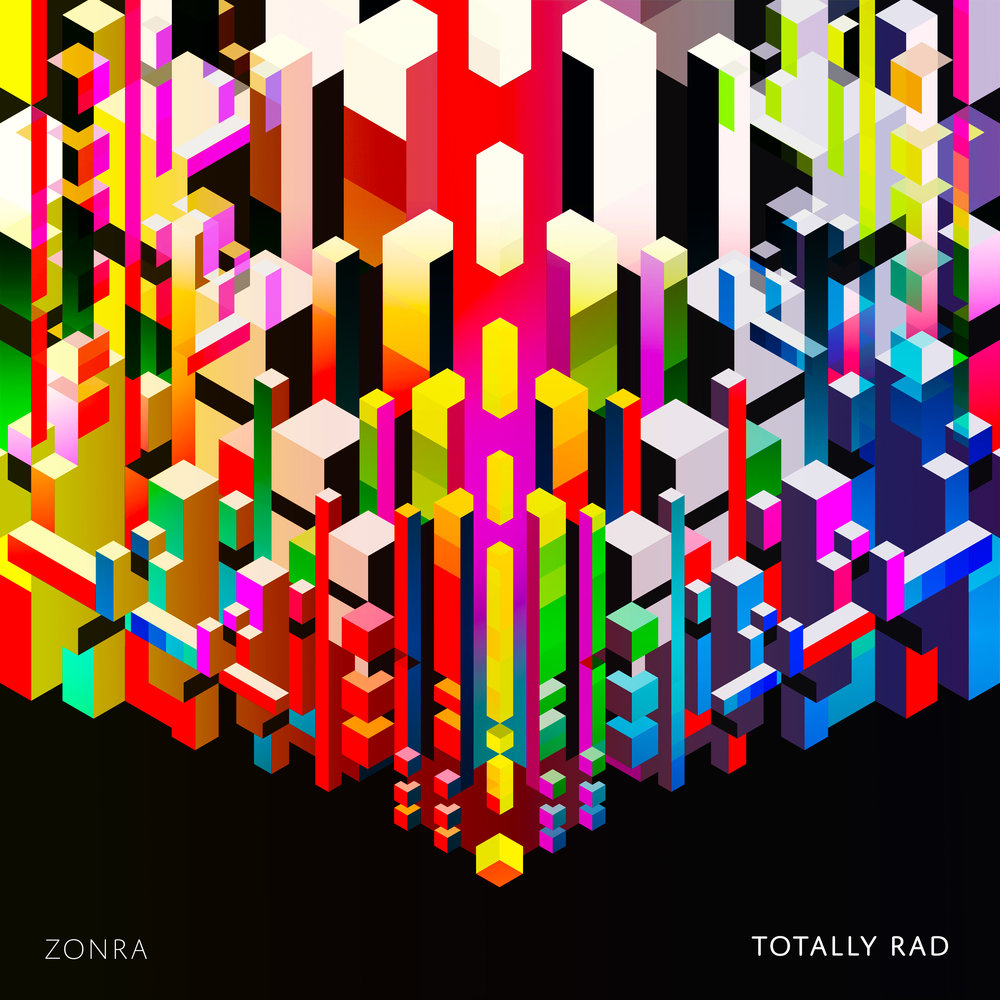 ZONRA - TOTALLY RAD    work in progress / process images