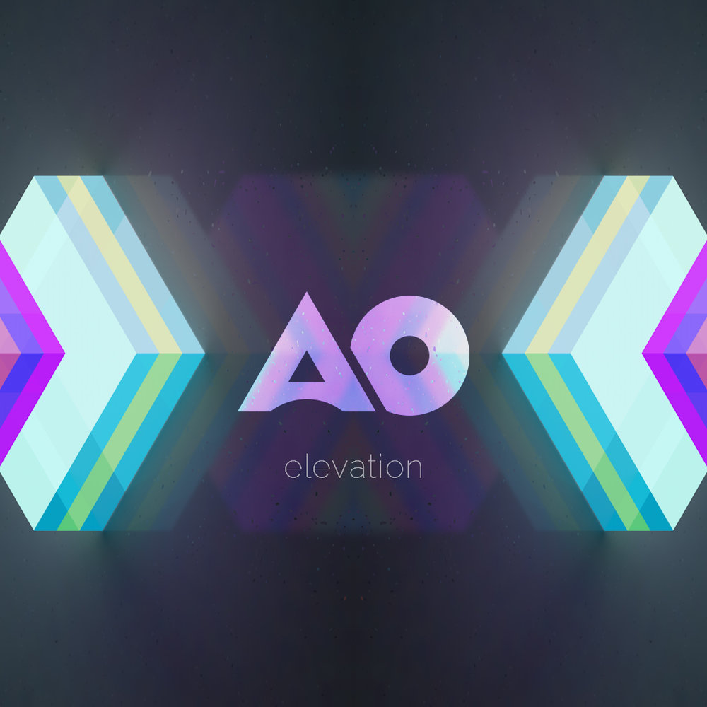 AO  - logo design and packaging, posters, stickers
